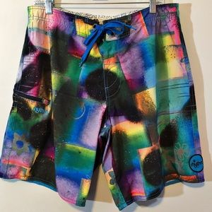 Rhythm board shorts attached surfboard was comb 33